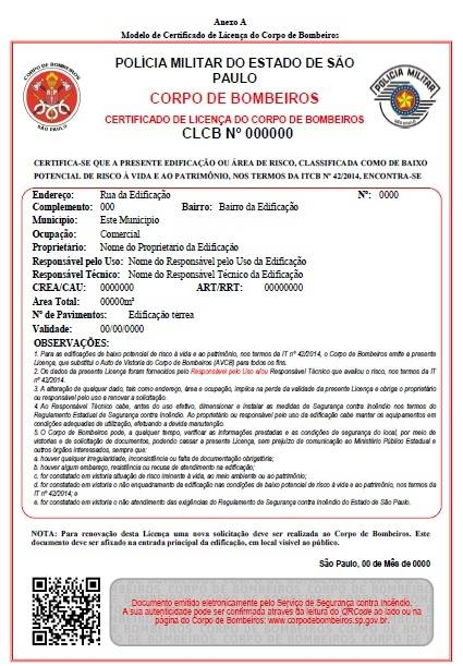 Alvará do Corpo de Bombeiros Melhor Valor na Cidade Patriarca - Projeto AVCB na Zona Oeste