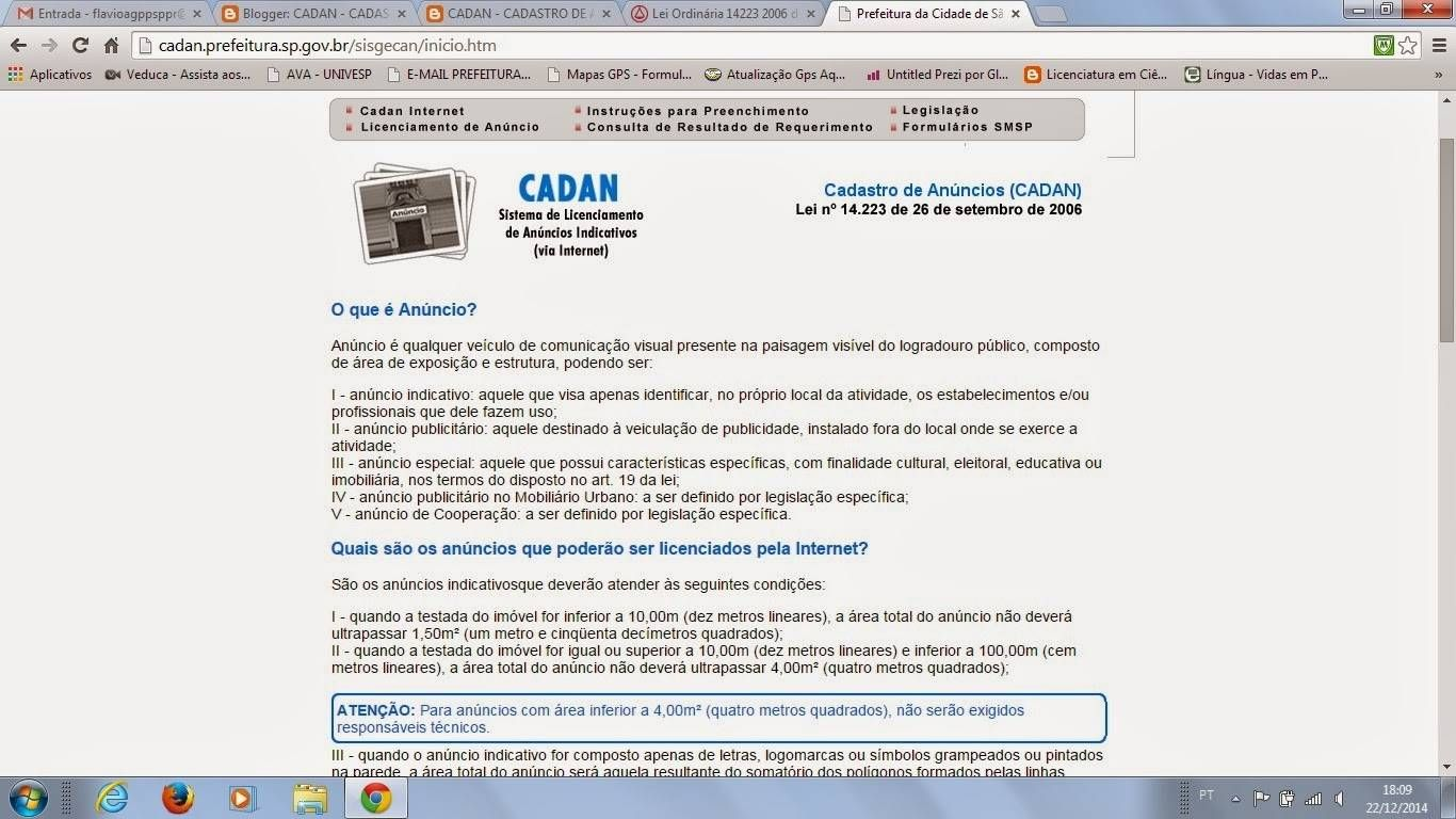 Aprovação CADAN com Menor Preço em Cachoeirinha - Empresa de CADAN