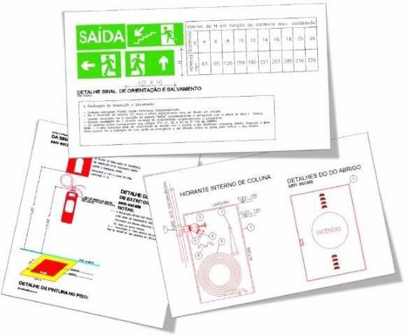 Licença do Corpo de Bombeiros Menor Preço em São Domingos - Projeto AVCB em São Bernardo