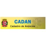 Aprovação de CADAN preços em Aricanduva