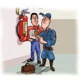 Laudo de bombeiro no Imirim