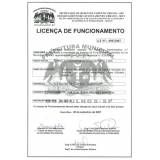Licença de funcionamento onde encontrar no Jaraguá