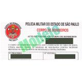 Licença do corpo de bombeiros valor baixo no Parque São Lucas